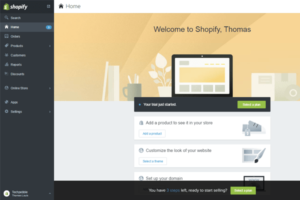 Build an eCommerce Website using Shopify 05