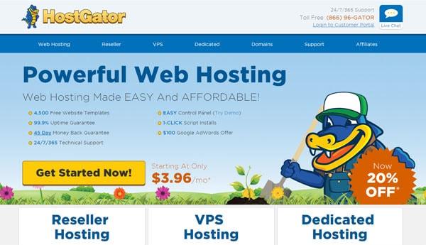 Best WordPress Hosting For Bloggers Hostgator