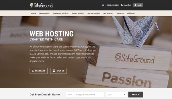 Best WordPress Hosting For Bloggers Siteground