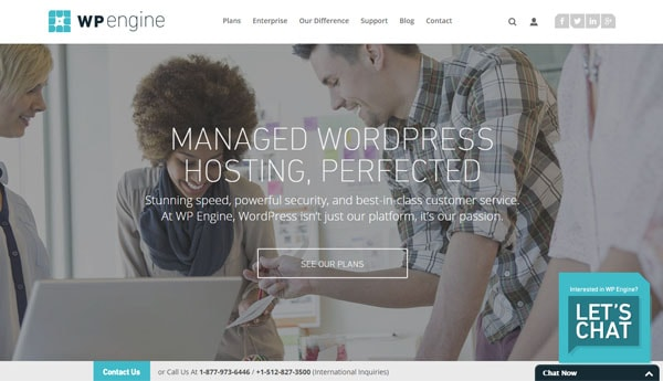 Best WordPress Hosting For Bloggers WPengine