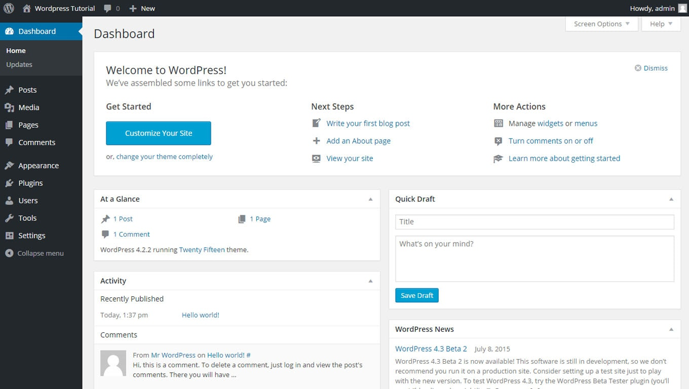 create a website with wordpress 01-min