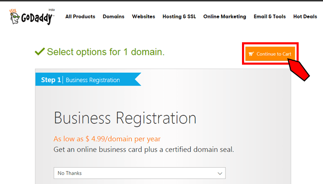 Register domain 04